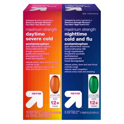 up & up Day & Night Severe Cold Relief