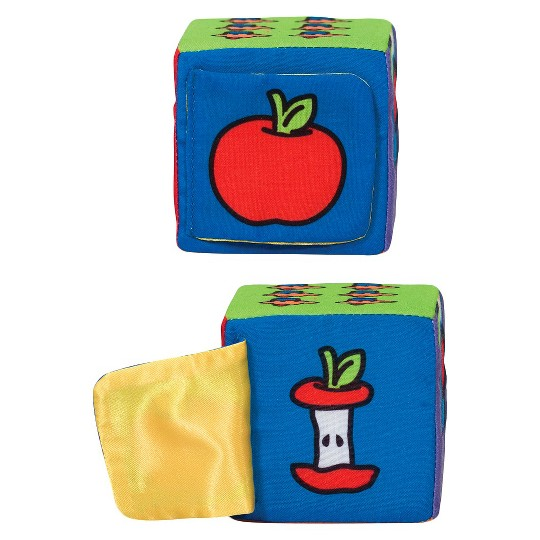 Melissa & Doug K's Kids Match and Build Soft Blocks Set image number null