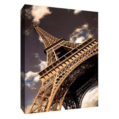 "11"" x 14"" Eiffel View I Decorative Wall Art - PTM Images"