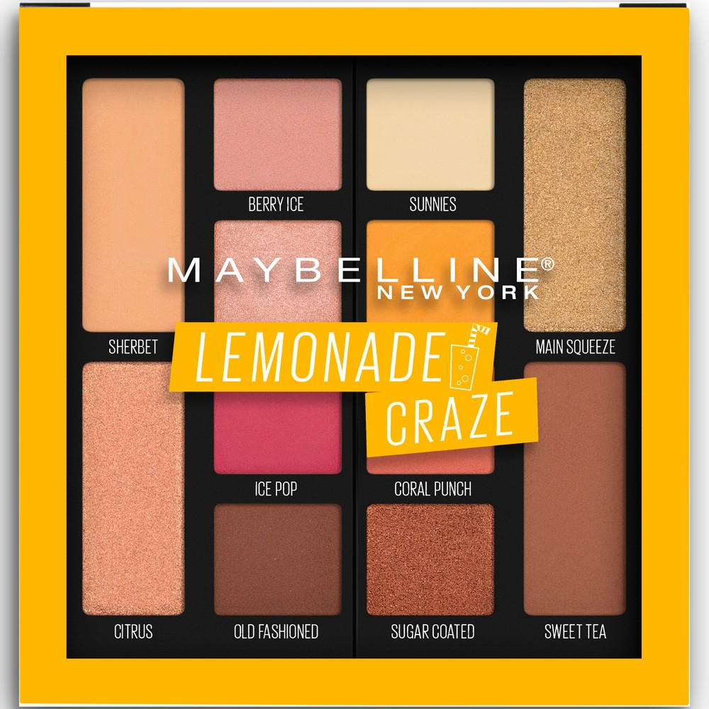 Maybelline Lemonade Palette 100 Lemonade Craze, Urban Light