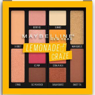 Maybelline Lemonade Palette 100 Lemonade Craze - 0.26oz