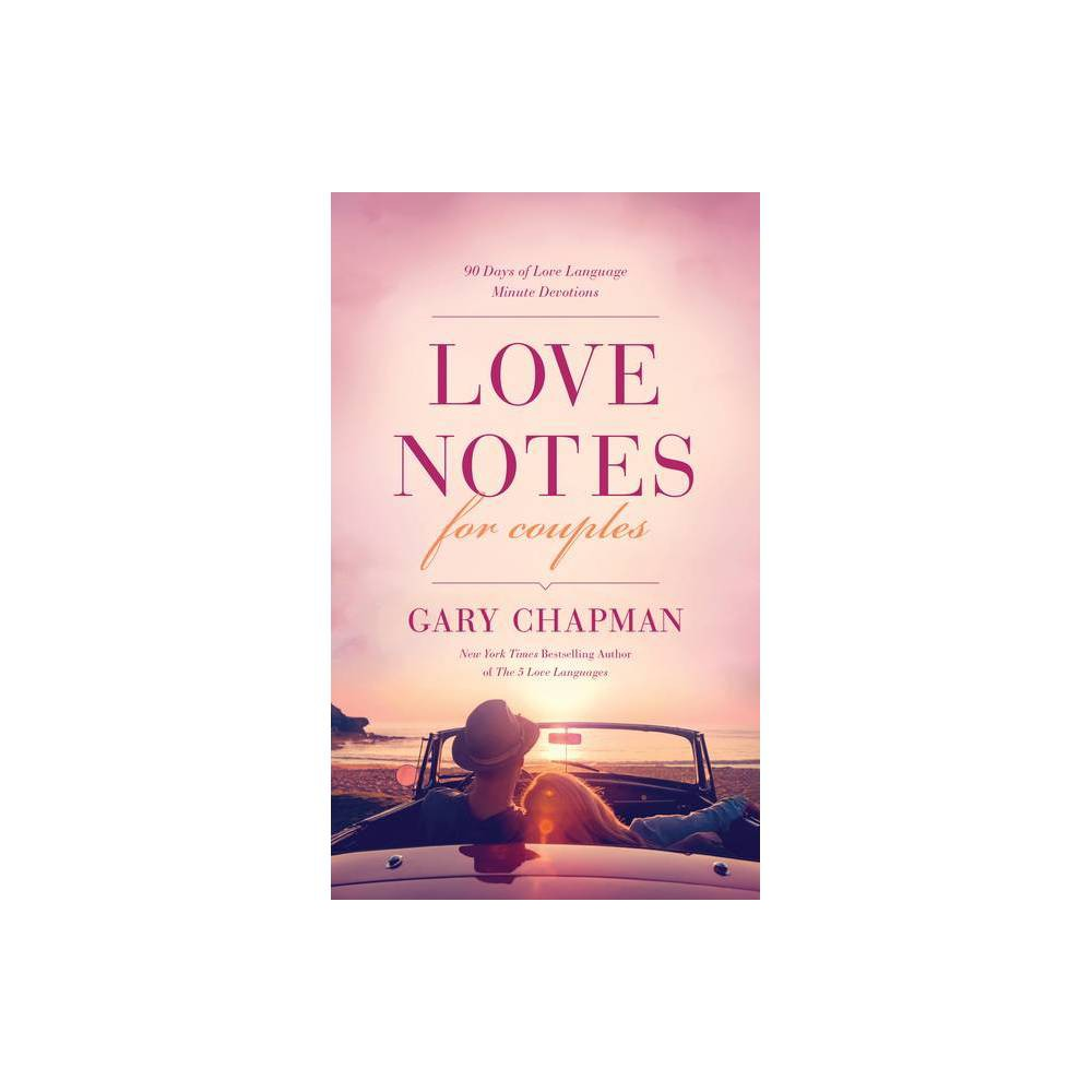 Love Notes For Couples By Gary Chapman Paperback