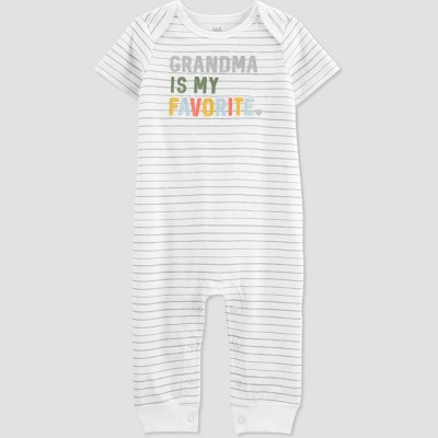 Baby 'Grandma Is My Favorite' Romper - Just One You® made by carter's Gray 6M