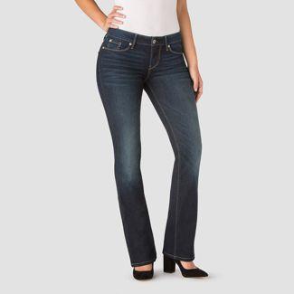 DENIZEN® from Levi's® Women's Mid-Rise Bootcut Jeans - Dark Wash 12 Short
