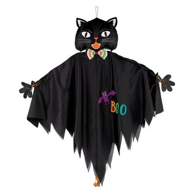 "48"" Hanging Cat Halloween Decorative Mannequin"