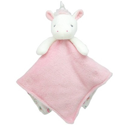 Baby Girls' Unicorn Cuddle Plush Security Blanket - Just One You® made by carter's White