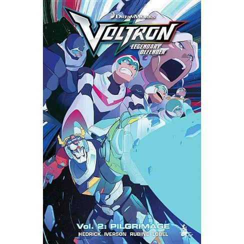 Voltron Legendary Defender Vol. 2 - by  Tim Hedrick & Mitch Iverson (Paperback) - image 1 of 1