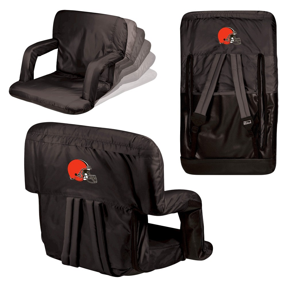 Cleveland Browns Ventura Seat Portable Recliner Chair By Picnic Time