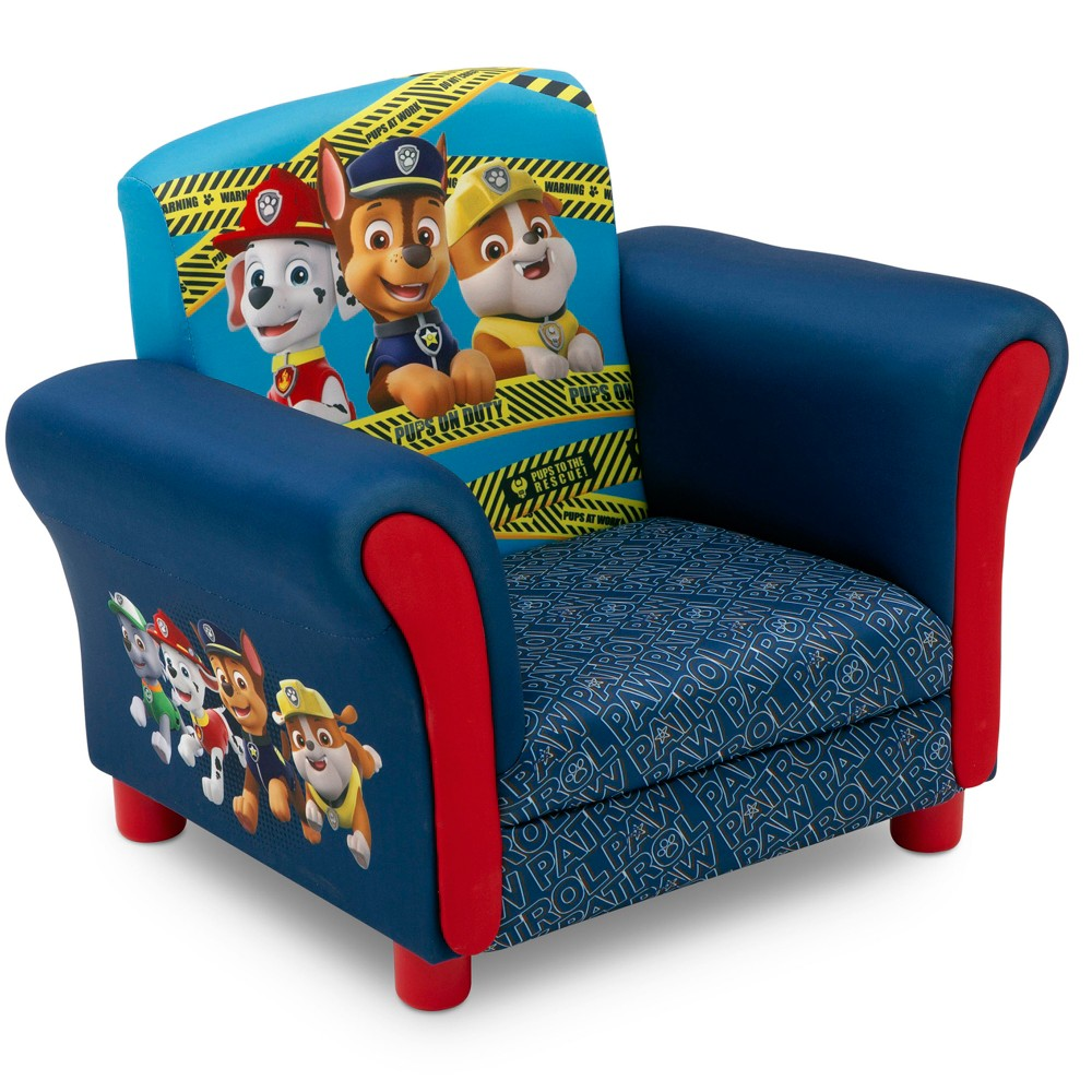 Image of PAW Patrol Upholstered Kids Armchair - Nick Jr.