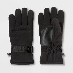 Men's Gussett Ski Gloves - Goodfellow & Co™ Black