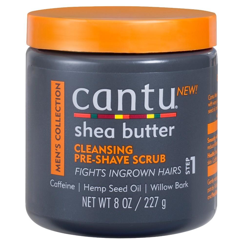 Cantu Men 39 S Shea Butter Cleansing Pre Shave Scrub 8oz