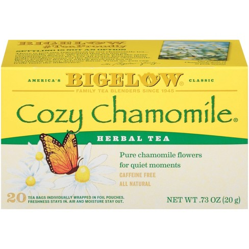 Bigelow Cozy Chamomile Herbal Tea Bags - 20ct - image 1 of 4