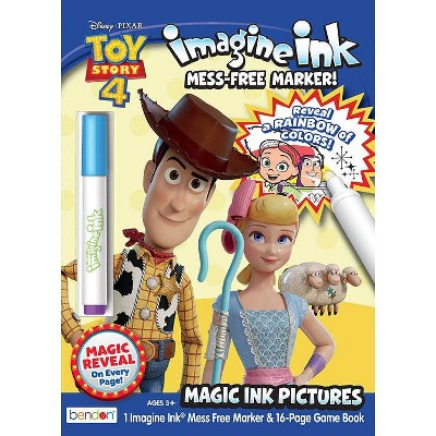 Toy Story 4 Imagine Ink Book (Paperback)