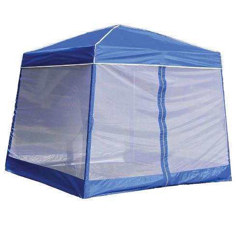 Z Shade 10 Ft Angled Leg Screenroom Patio Shelter Canopy Not