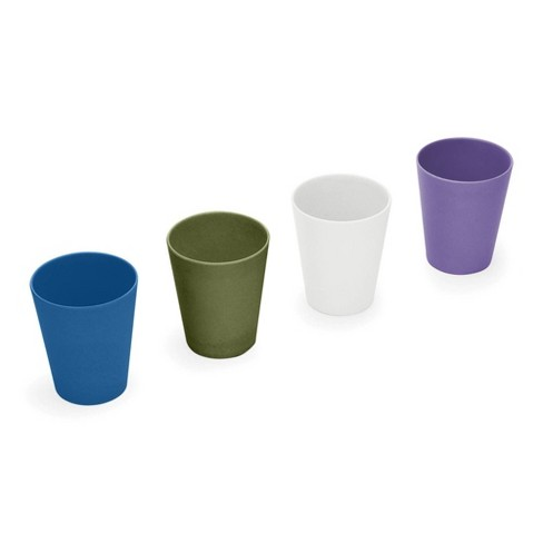 Red Rover 8oz 4pk Bamboo Kids' Cups - image 1 of 4
