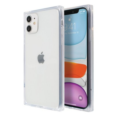 Insten Square Case For iPhone 11 (6.1 inch), Reinforced Corners Crystal Clear Ultra-Thin Soft TPU Cover