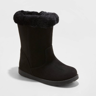 Toddler Girls' Karley Faux Fur Shearling Boots - Cat & Jack™