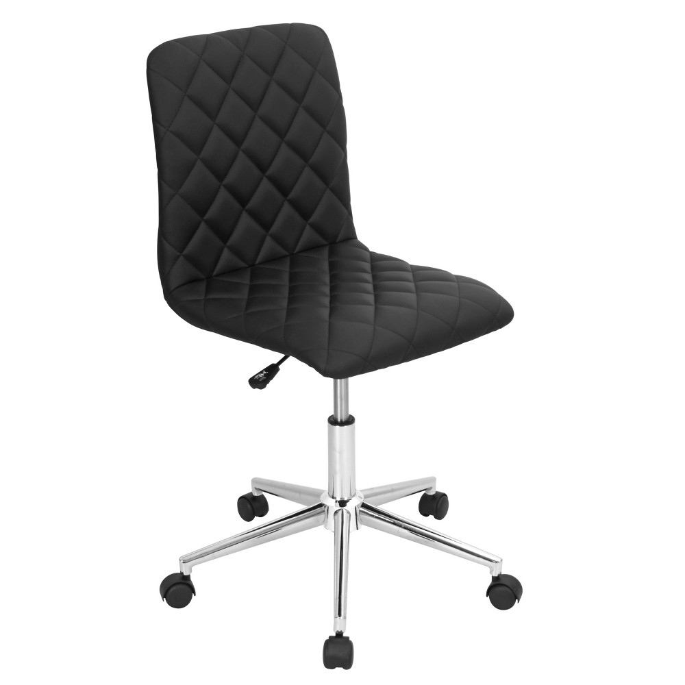 Caviar Contemporary Office Chair Black - LumiSource
