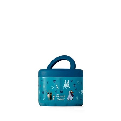 S'nack by S'well Disney Frozen 2 24oz Stainless Steel Food Container - Aqua