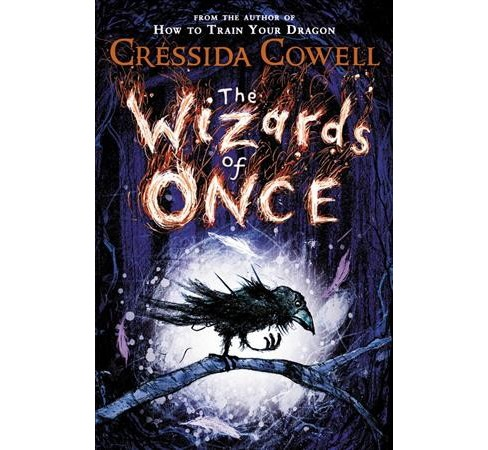 Wizards of Once -  Large Print (Wizards of Once) by Cressida Cowell (Hardcover) - image 1 of 1