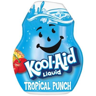 Kool-Aid Liquid Tropical Punch Drink Mix - 1.62 fl oz Bottle