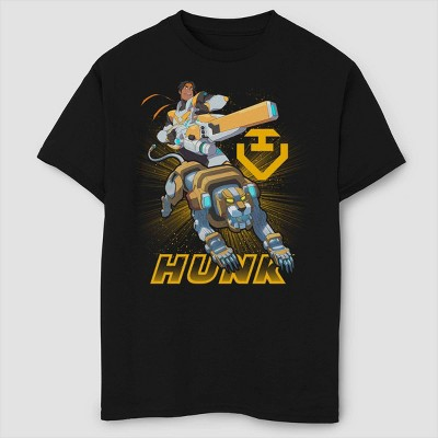 Boys' Voltron: Legendary Defender Hunk T-Shirt - Black