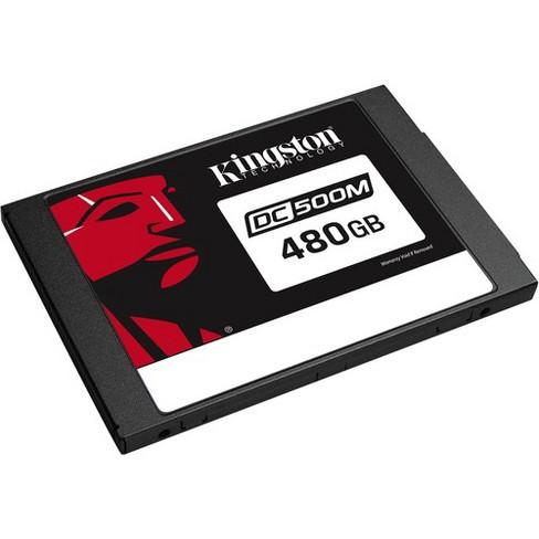 Kingston Enterprise SSD DC500M (Mixed-Use) 480GB - 555 MB/s Maximum Read Transfer Rate - 256-bit Encryption Standard - 5 Year Warranty - image 1 of 4