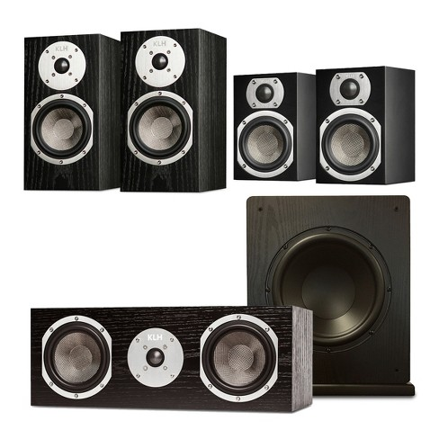 "KLH Albany 5.1 Speaker System with Windsor 10"" Subwoofer - image 1 of 12"