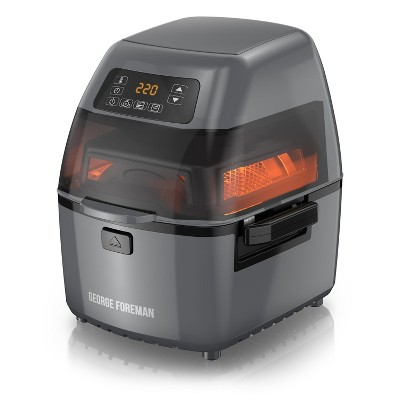 George Foreman Twist 'N Crisp 3.17qt Air Fryer - Grey GHFD6820G