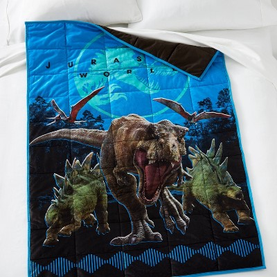 Jurassic World Stampede Weighted Blanket