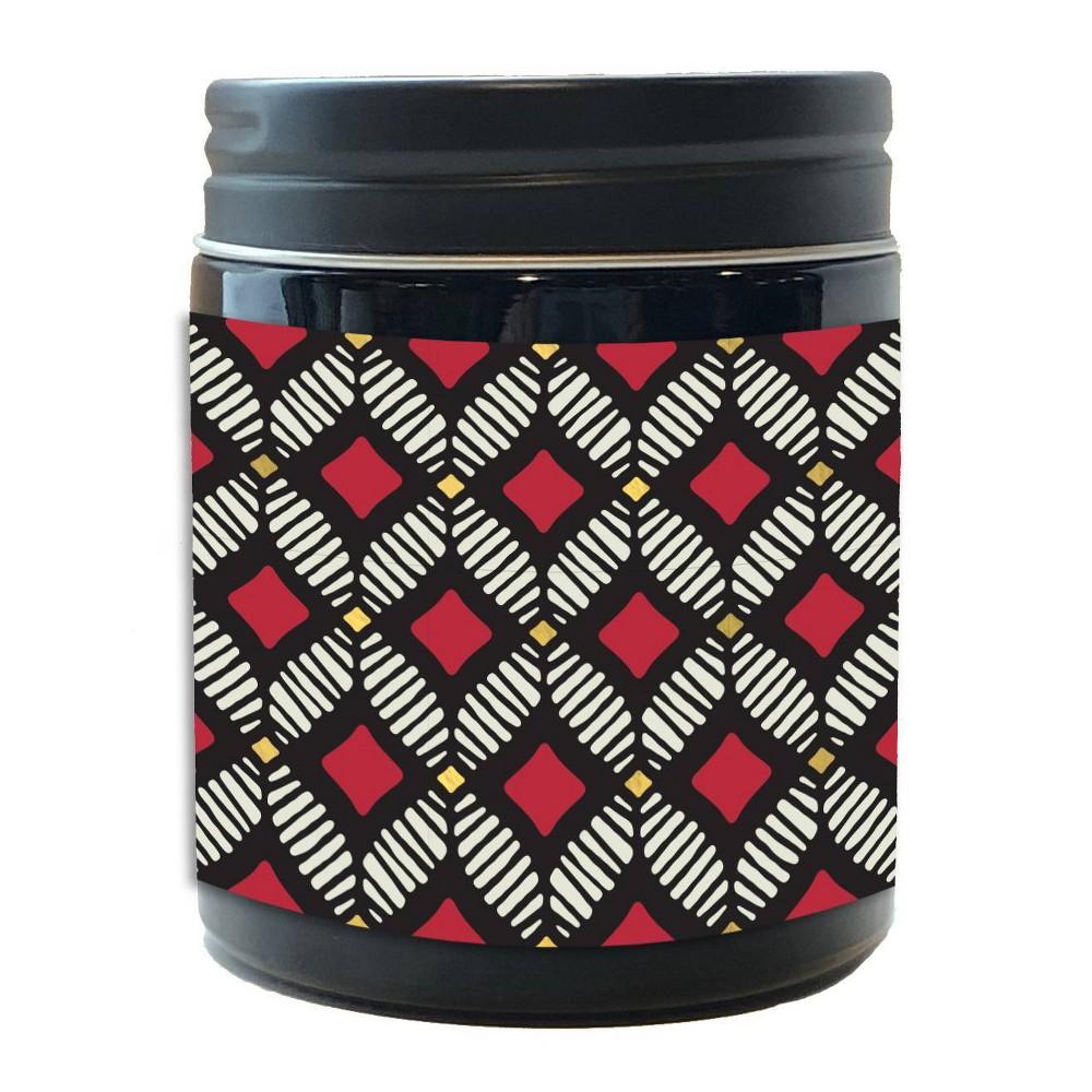 Image of DesignWorks Black Jar Candle Zanzibar Fig