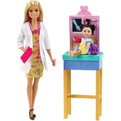 Barbie Careers Pediatrician Doll Playset