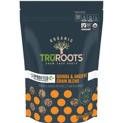 truRoots Organic Sprouted Quinoa & Ancient Grain Medley - 10oz