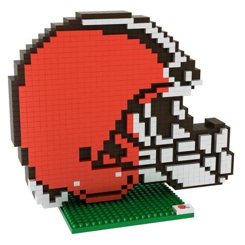 NFL Cleveland Browns BRXLZ Mascot Figure 1000pc - image 1 of 1