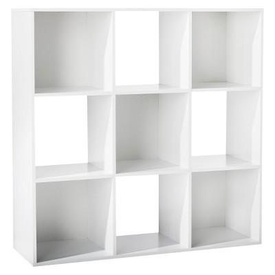 11 9 cube organizer shelf white room essentials target rh target com white cubicle shelves walmart Storage Cubbies with Baskets