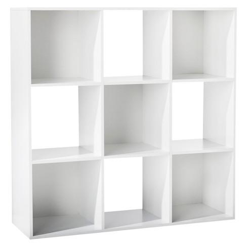 "11"" 9 Cube Organizer Shelf White - Room Essentials™ - image 1 of 4"