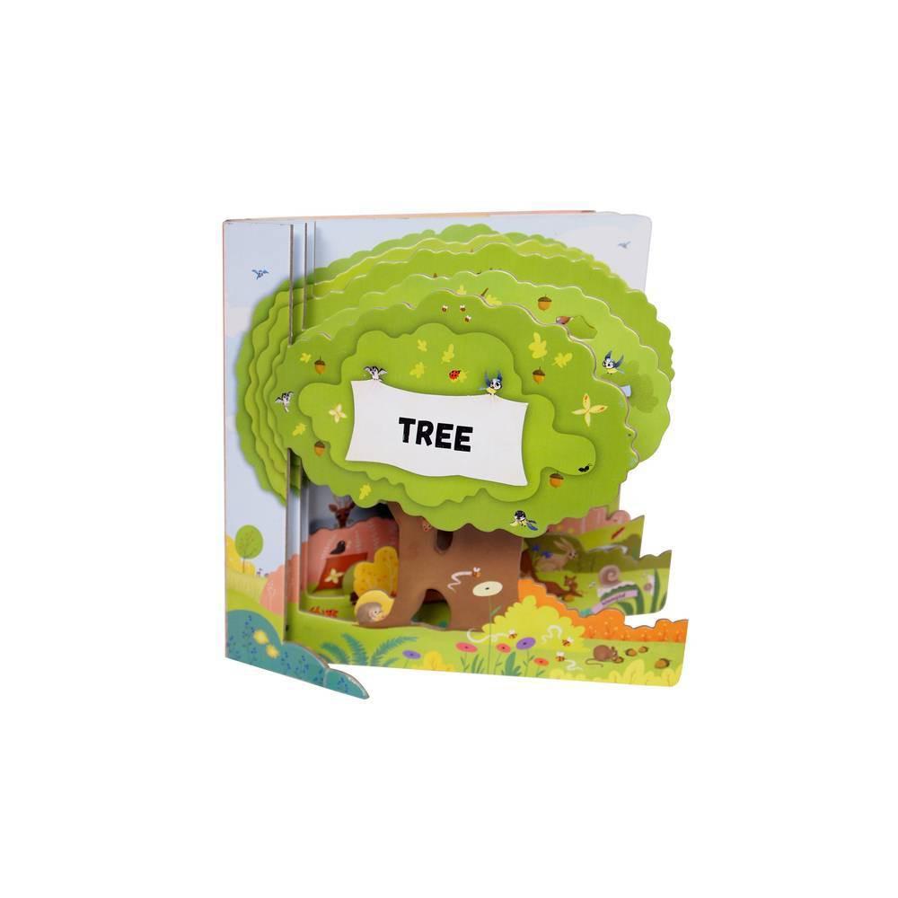 Tree Peek Inside By Petra Bartikova Board Book