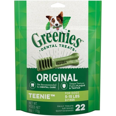 Dog Treats: Greenies Teenie