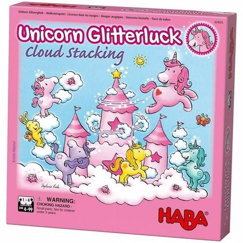 HABA Unicorn Glitterluck Cloud Stacking Game - image 1 of 4