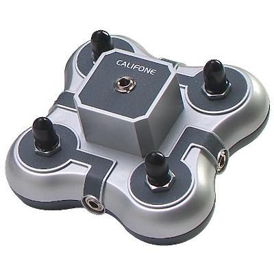 Califone 1114AVPS 4-Position Mini Stereo Jackbox