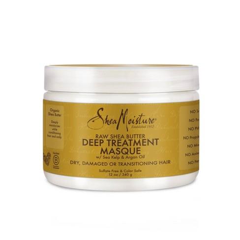 SheaMoisture Raw Shea Butter Deep Treatment Masque - 12oz - image 1 of 4