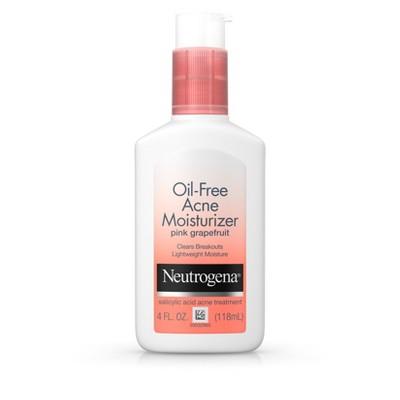 Facial Moisturizer: Neutrogena Oil-Free Acne Moisturizer
