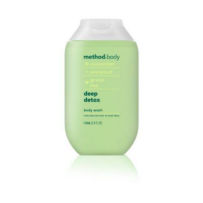 Method Mini Experiential Body Wash Deep Detox - Trial Size - 3.4 fl oz