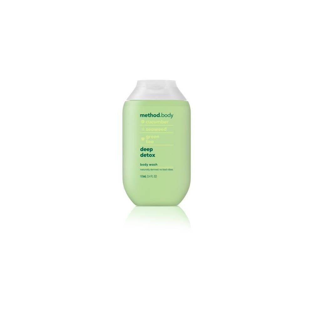 Image of Method Mini Experiential Body Wash Deep Detox - 3.4 fl oz