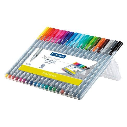 020f58a843f STAEDTLER 20pk Fine Tip Marker Pen Set
