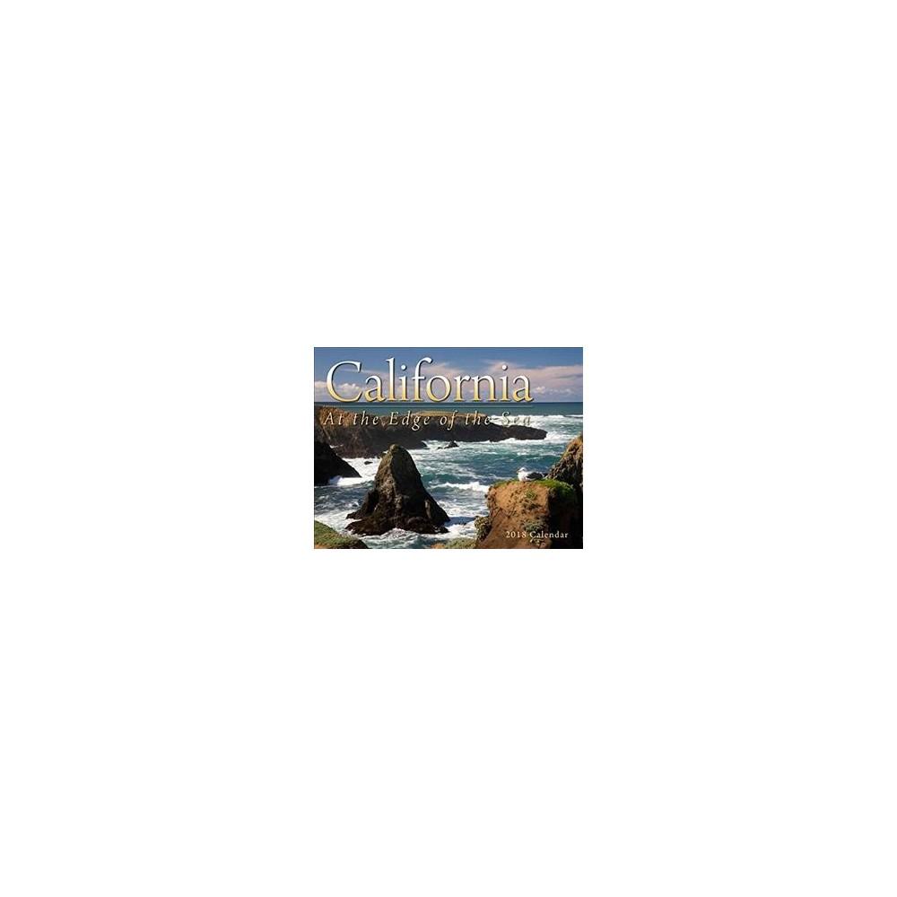 California at the Edge of the Sea 2018 Calendar - (Paperback)