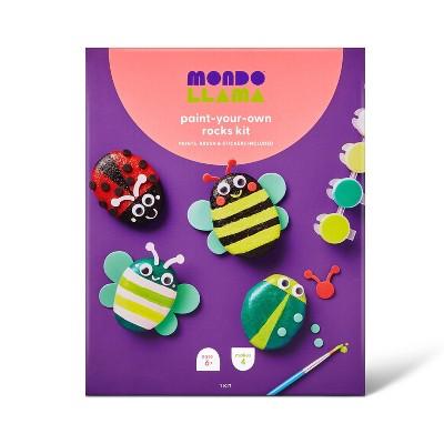 Paint-Your-Own Rocks Kit Bugs - Mondo Llama™