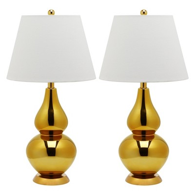 Table Lamp - Gold/White - Safavieh®
