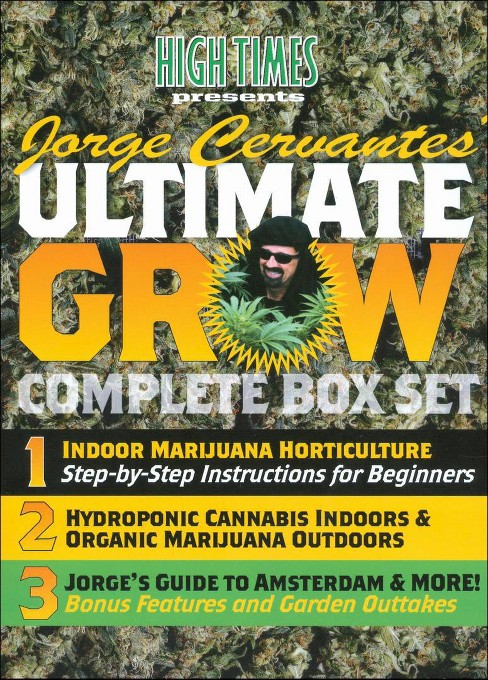 Jorge Cervantes Ultimate Grow Complet (DVD) - image 1 of 1