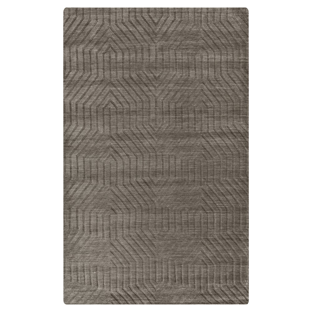 3'X5' Solid Accent Rug Soft Taupe - Rizzy Home